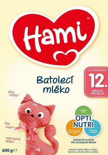 Hami 12+ batolecí mléko 600 g