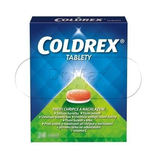 XXL obrazek Coldrex 12 tablet