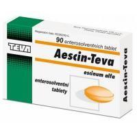 Aescin-Teva 20 mg 90 tablet cena od 136 Kč