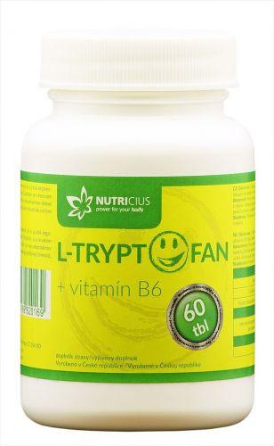 L-Tryptofan + vitamín B6 - 200 mg 60 tablet