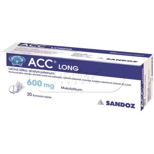 ACC LONG 20 tablet cena od 199 Kč