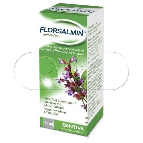 Florsalmin výplach ústní dutiny 50 ml cena od 90 Kč