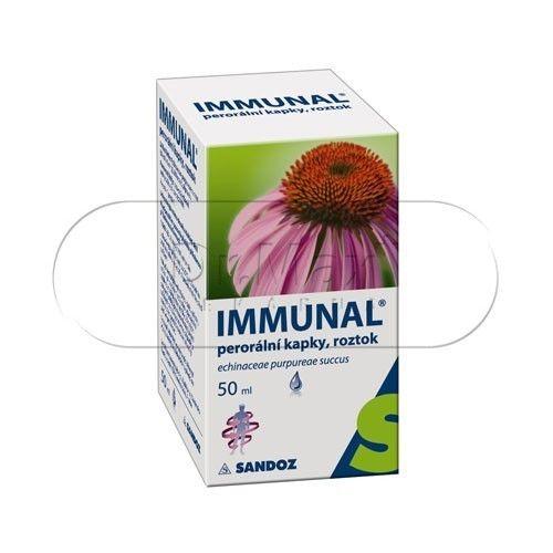 Immunal perorální kapky 50 ml cena od 90 Kč