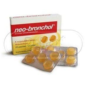 Neo-Bronchol 20 pastilek cena od 114 Kč