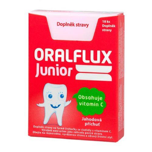 ORALFLUX Junior žvýkačky 18 ks