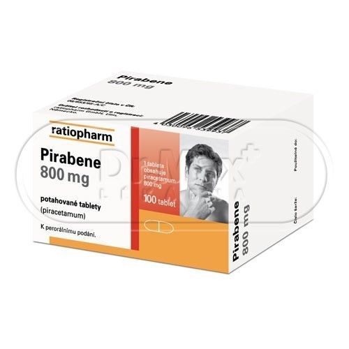 XXL obrazek Pirabene 800 mg 100 tablet