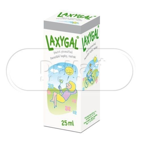Laxygal projímadlo 25 ml cena od 81 Kč