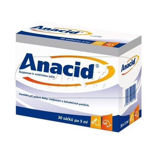 Anacid 5 ml 30 sáčků cena od 80 Kč