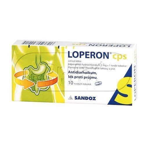 Loperon cps 10 tobolek cena od 60 Kč
