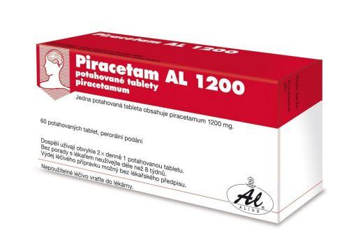 Piracetam AL 1200 60 tablet cena od 176 Kč