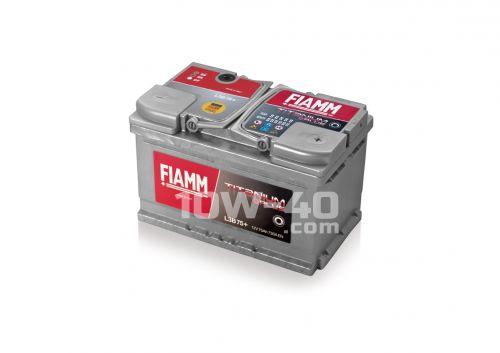 FIAMM Titanium Plus 730A 12V 75Ah cena od 1939 Kč