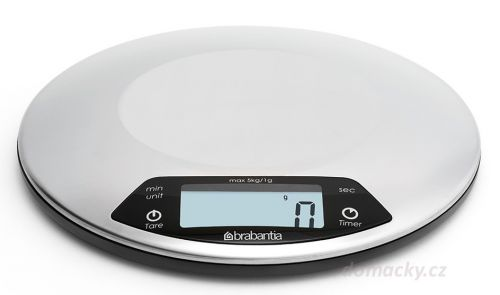 Brabantia Digitální kuchyňská váha s minutkou cena od 749 Kč