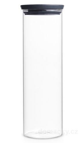 Brabantia Skleněná stohovatelná dóza 1,9 L cena od 329 Kč