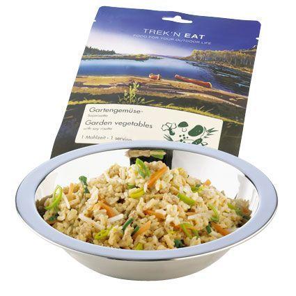 Trek´n eat Bílé rizoto s buketem z jemné zahradní zeleniny 160 g