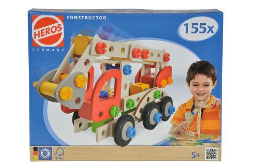 Simba HEROS Constructor Hasičské auto 155 dílů cena od 618 Kč