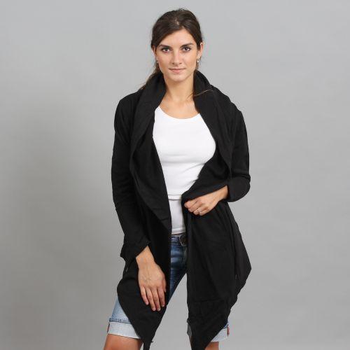 Urban Classics Ladies Hooded Sweat Cardigan svetr