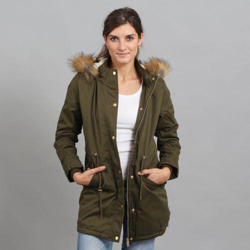 Urban Classics Ladies Sherpa Lined Peached bunda