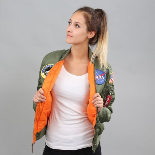 Alpha Industries WMNS MA 1 VF NASA bunda