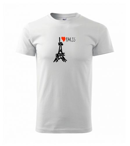 Myshirt.cz I love Paris triko