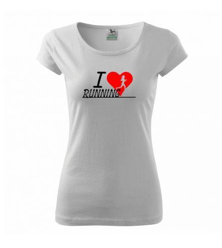 Myshirt.cz I love running holka triko