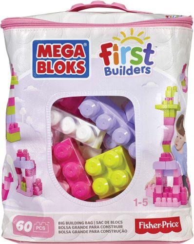 Mattel Mega Bloks First Builders Big building bag girls