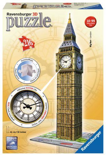 Ravensburger Big Ben s hodinami 3D 216 dílků