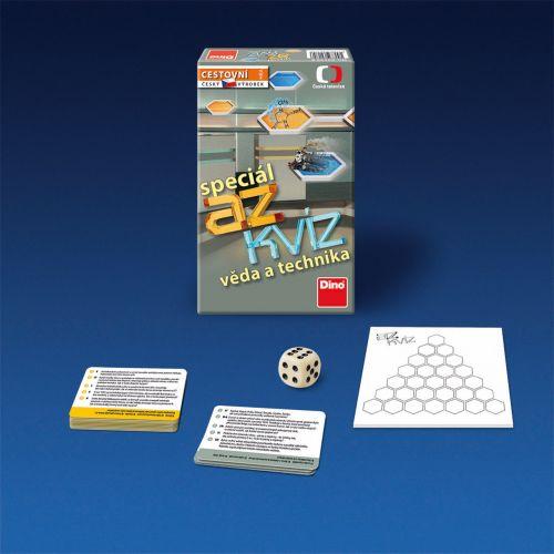 Dino: AZ kvíz - Věda a technika - hra - Dino cena od 171 Kč