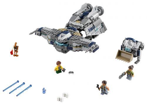 Lego Star Wars Hvězdný Scavenger 75147 cena od 1291 Kč