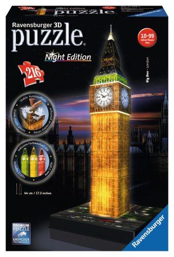 Ravensburger Big Ben Noční edice 3D 216 dílků