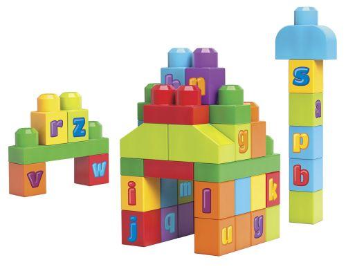 Mattel Mega Bloks First Builders ABC kostky