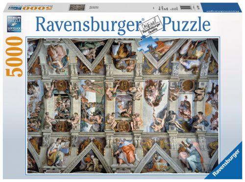 Ravensburger Sixtinská kaple 5000 dílků