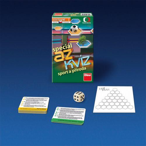 Dino: AZ kvíz - Sport a příroda - hra - Dino cena od 129 Kč