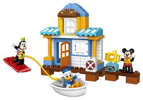 Lego Duplo Mickeyho plážový dům 10827