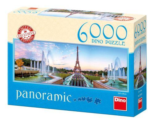 Dino Pohled na Eiffelovku 6000 dílků