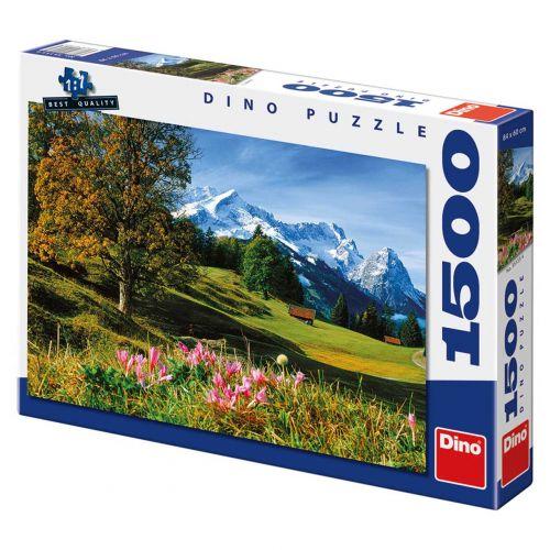 Dino Bavorské Alpy 1500 dílků
