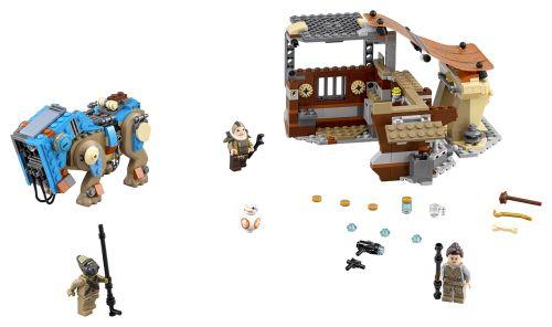 Lego Star Wars Setkání na Jakku 75148