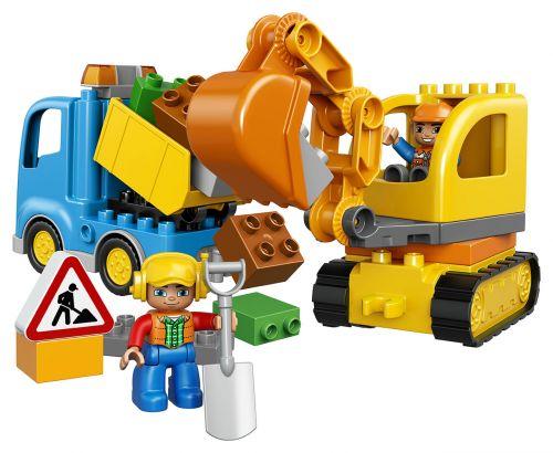 Lego Duplo náklaďák a nakladač 10812