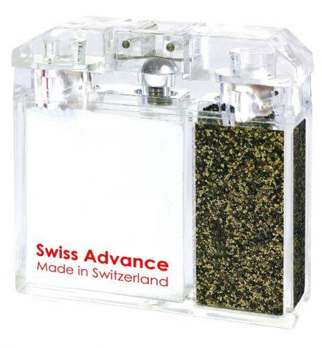 Swiss Advance Dvouoddílová kořenka (vlhkuvzdorná) alpská sůl & černý pepř cena od 494 Kč