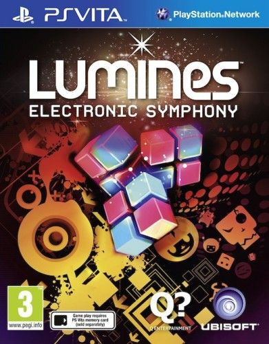 Lumines: Electronic Symphony pro PS Vita