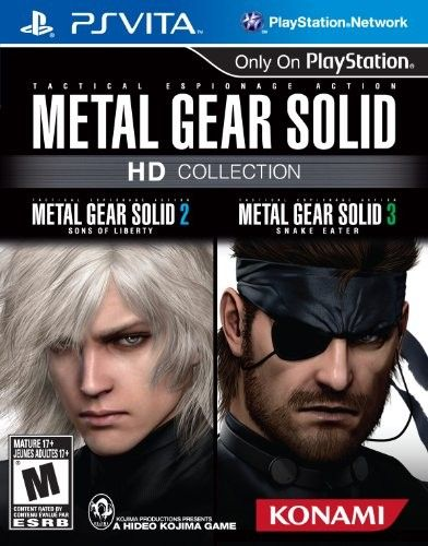 Metal Gear Solid HD Collection pro PS Vita