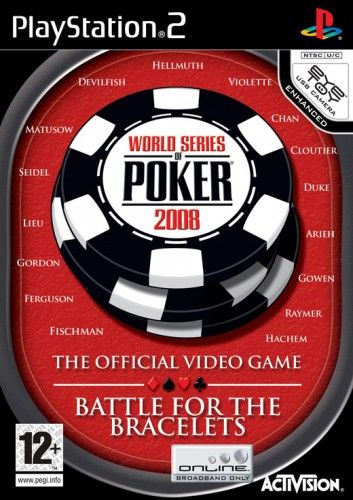 World Series of Poker 2008 pro PS2