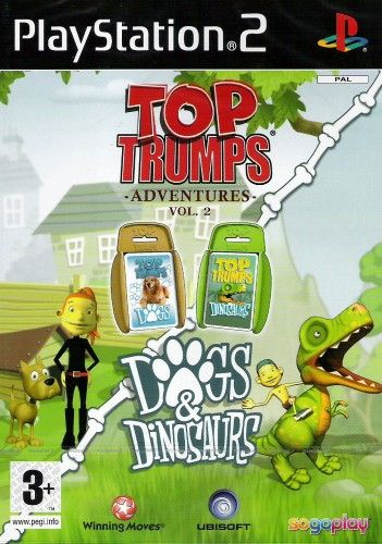 Top Trumps Dogs and Dinosaurs pro PS2