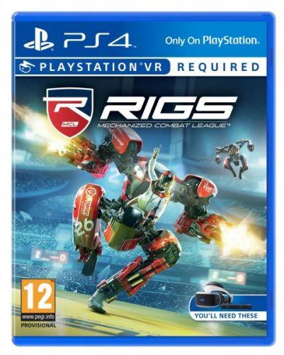 RIGS Mechanized Combat League pro PS4 cena od 288 Kč