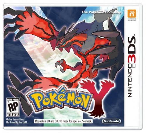 Pokemon Y pro Nintendo 3DS
