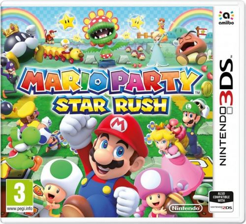 Mario Party: Star Rush pro Nintendo 3DS