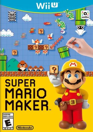 Super Mario Maker + artbook pro Nintendo Wii U