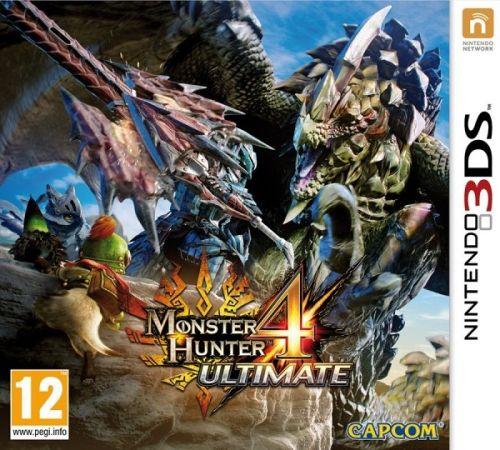 Monster Hunter 4 Ultimate pro Nintendo 3DS