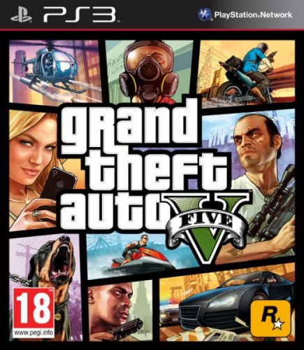 Grand Theft Auto V (GTA 5) pro PS3