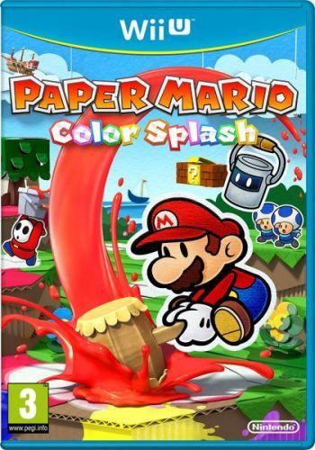 Paper Mario Color Splash pro Nintendo Wii U