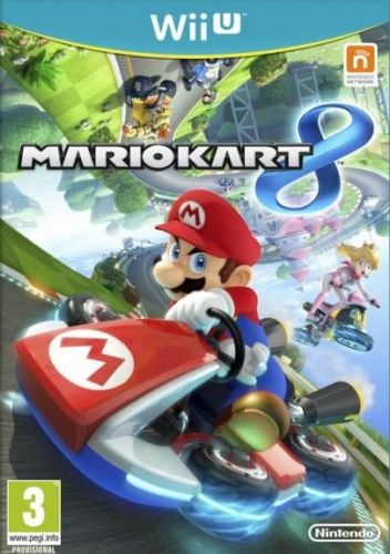 Mario Kart 8 pro Nintendo Wii U